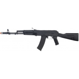 Lancer Tactical LT-731D AKS 74U AK-104 AEG Full Metal w/ Fixed Stock