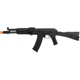 Lancer Tactical Airsoft AK-105 AEG Full Metal Side Folding Stock