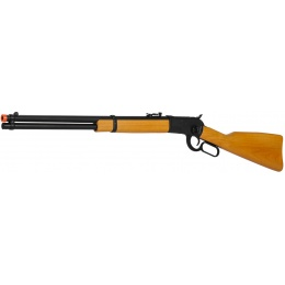 A&K Airsoft M1892 Lever Action Gas Sniper Rifle w/ Real Wood Stock