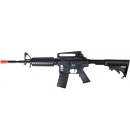 ICS Airsoft M4A1B AEG Polymer Edition w/ Adjustable LE Stock - BLACK