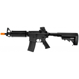 JG Airsoft M4 CQB-R AEG Integrated Metal Rail System - BLACK