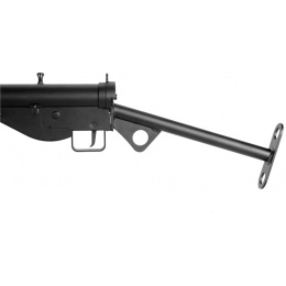 AGM Airsoft MP058 MKII STEN AEG WWII British Full Metal SMG - BLACK