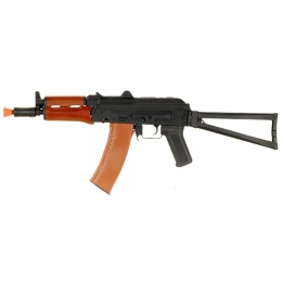 CYMA Airsoft AKS 74U AEG Full Metal Real Wood Handguard Folding Stock