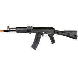 DBOYS Airsoft AK 105 AEG Full Metal Side Folding Stock - BLACK