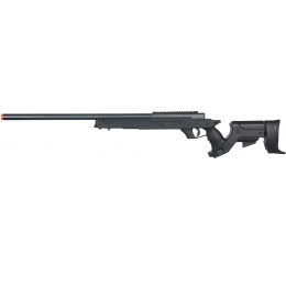 Well Airsoft MB04 Gas Powered Bolt Action Rifle w/ Adjustable Stock