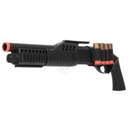 350 FPS AGM Airsoft Sawed Off Shell-Fed Pump Action Shotgun
