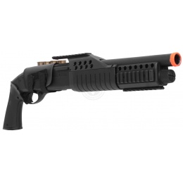 350 FPS AGM Airsoft Sawed Off Shell-Fed Pump Action Shotgun