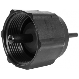 Cybergun Airsoft Gas-Propane ABS Plastic Adapter Kit - BLACK