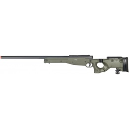Well Airsoft L96 AWP BOLT Action Rifle w/ Folding Stock - OD GREEN