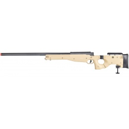 Well Airsoft L96 AWP BOLT Action Rifle w/ Folding Stock - TAN