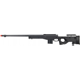 Well Airsoft L96 AWP BOLT Action Rifle w/ Fluted Barrel - BLACK