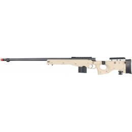Well Airsoft L96 AWP BOLT Action Rifle w/ Fluted Barrel - TAN