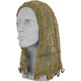 Airsoft Tactical Ghillie Hood - KHAKI