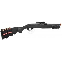 340 FPS Airsoft Shell-Fed Full Stock Pump Action Shotgun