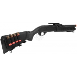 340 FPS Airsoft Shell-Fed Full Stock Pump Action Shotgun