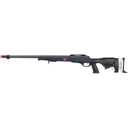 Well Airsoft VSR BOLT Action Rifle w/ Fixed Stock - BLACK
