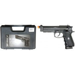 HFC Airsoft M190 Pistol Special Forces Gas Powered w/ GBB - BLACK