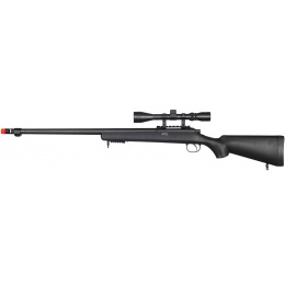 Well Airsoft VSR 10 Bolt Action Rifle w/ Fixed Stock Fluted Barrel