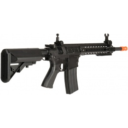 Lancer Tactical Airsoft M4 AEG KeyMod 10-inch Polymer Edition - BLACK
