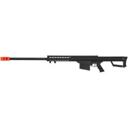 Lancer Tactical Airsoft M82 Polymer Spring Rifle - BLACK