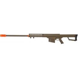 Lancer Tactical Airsoft M82 Polymer Spring Rifle - TAN