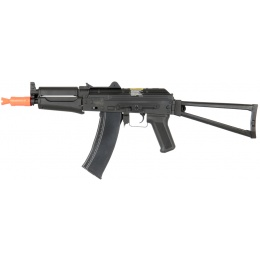 Lancer Tactical Airsoft AKS 74U ABS Plastic Edition w/ Folding Stock