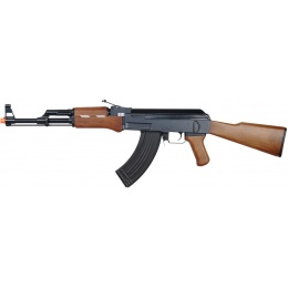 Golden Eagle Airsoft AK 47 Polymer Edition w/ Fixed Stock - BLACK