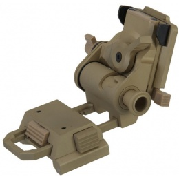 Lancer Tactical Airsoft L4 G24 Night Vision Goggle Mount - TAN