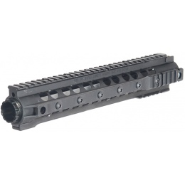 UK Arms Airsoft XRU 3 M4 Handguard w/ 12.5-inch Rail - BLACK