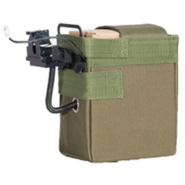 Lancer Tactical Airsoft 4000 Round Box Magazine for M 240