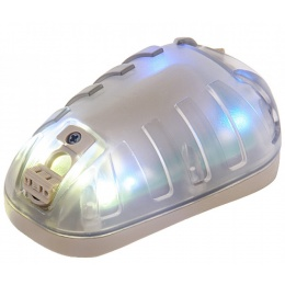 Helmet Mounted Blue Multi-Function Marker Light - DARK EARTH