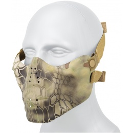 AMA Tactical Skull Lower Face Mask w/ Foam Padding - MAD