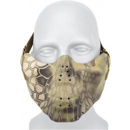 AMA Tactical Skull Lower Face Mask w/ Foam Padding - MAD