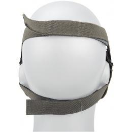 AMA Tactical Skull Lower Face Mask w/ Foam Padding - ACU