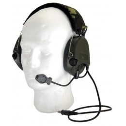 Z-Tactical Airsoft ZSordin Headset Gear - Foliage Green