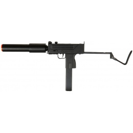 Double Eagle Airsoft M807 SMG AEG w/ Barrel Extension Folding Stock