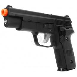 STTI M226 SuperShot Full Size Airsoft Spring Pistol - BLACK