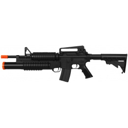 Double Eagle M4 RIS AEG w/ Grenade Launcher - BLACK