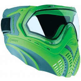 Valken Identity Airsoft Goggles-Clear Lens Goggles - GREEN/GREY