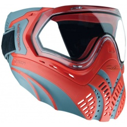Valken Identity Airsoft Goggles-Clear Lens Goggles - RED/GREY