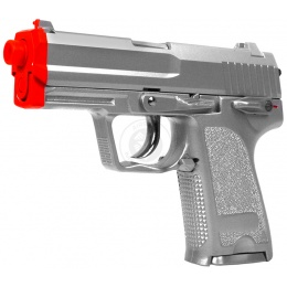 STTI Compact G8 Airsoft Spring Pistol w/ Slide Lock - SILVER