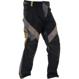 Valken Redemption Vexagon Tactical BDU Pants - BLACK/GOLD - SMALL