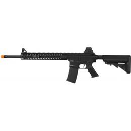 KWA Airsoft M4 AEG KM4 KR14 14-inch KeyMod Tactical RIS - BLACK