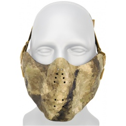 AMA Tactical Skull Lower Face Mask w/ Foam Padding - ACU