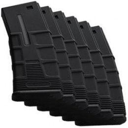 ICS Airsoft T4 LOW-CAP Magazines Polymer 45 Rd Capacity - 6 PACK
