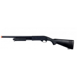 A&K M870 Airsoft Pump Action Shotgun - BLACK