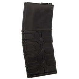 ICS Airsoft M4 Tactical Magazines 450 Rd Capacity - 6 PACK - BLACK