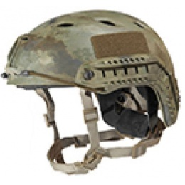 Lancer Tactical Airsoft Helmet ABS Plastic Base Jump Type - AT - M/L