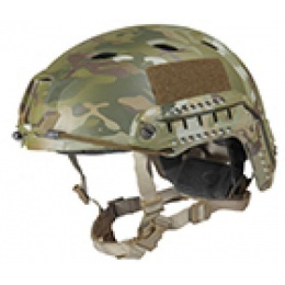 Lancer Tactical Airsoft Helmet Base Jump Type - MODERN CAM - M/L