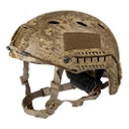 Lancer Tactical Airsoft Helmet Base Jump Type - DESERT DIGITAL - M/L